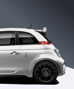 695 c saeule decal for abarth 695
