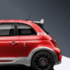 695 c pillar decal for abarth 695 in silver