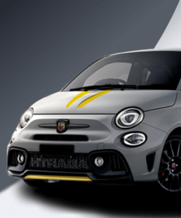 Abarth 500 Tributo stripes in all colors honorable