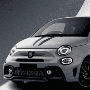 Abarth 500 Tributo stripe a timeless classic that never goes out of fashion.