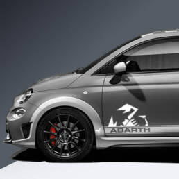 Abarth pages extension for the side strips for Abarth 500