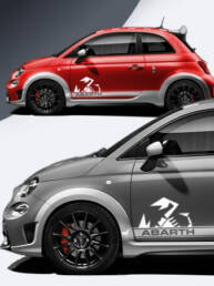 Abarth Pages extension for your Abarth 500 side strips